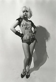 Debbie Harry of Blondie... Punk rock minx!