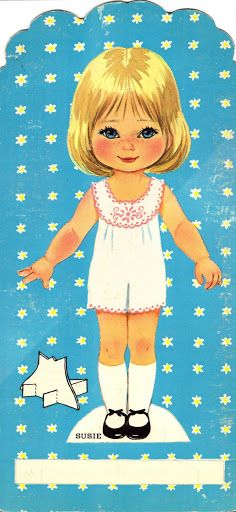 MY SUSIE DOLL Paper Doll 8 of 8