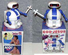 god jesus the robot
