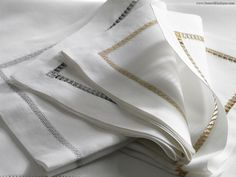Linen Towels, Whitework 2. When the artwork gives to the fabric the luxury touch. To use all around your house. Luxury interior design ideas.