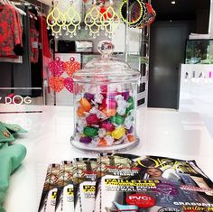 Inside Naughty Dog flagship store in Forte dei Marmi! Fashion & Candies ;) ♥
