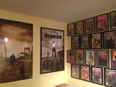 comic wall and posters walking dead poster is a 24x36 poster and the i am