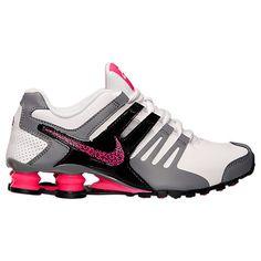 Women's Nike Shox Current Running Shoes - 639657 104   Finish Line