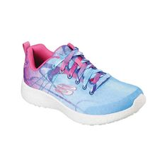 451b345c93bb Women s Skechers Burst Life in Color Lace Up - Blue Pink Athletic ( 66)