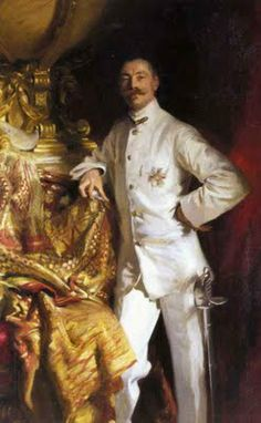 British Paintings: John Singer Sargent - Sir Frank Swettenham