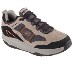 a4d26abce21 57501 Taupe Skechers Shoes Shape Ups New Men Memory Foam Fitness Walker  Comfort