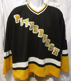 7457d4198 CCM MASKA NHL Pittsburgh Penguins Jaromir Jagr Vintage Jersey ~ XL TG XL