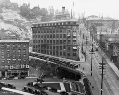 seattle history - sad that they couldn't keep this hotel... they tore it down and replaced it with a parking lot!!
