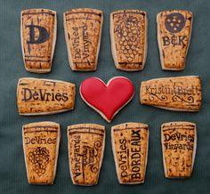 Wine Cork Cookies