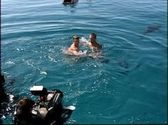 On set of Into The Blue