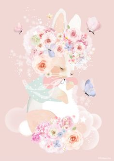 Limited Edition - Roses for Bunny
