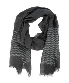 Striped Glitter Scarf Charcoal - Jenterommet Charcoal, Glitter, Fashion, Moda, Fashion Styles, Fashion Illustrations, Sequins, Glow