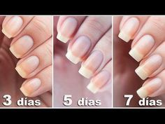 Home remedies to grow nails and harden them - Go Tips Beauty Secrets, Beauty Hacks, Beauty Tips, Beauty Care, Hair Beauty, Ongles Forts, Nail Soak, Nail Growth, How To Grow Nails