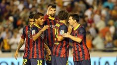 Valencia v FC Barcelona I Go Crazy, Barcelona Spain, One Team, Valencia, Photo Galleries, Soccer, Football, Game, Sports