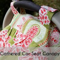 Lots of sewing tutorials -- good baby shower gifts!