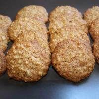 Biscoito de Aveia e Mel (sem manteiga e sem ovos)