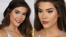 EASY, NATURAL, EVERYDAY GLAM MAKEUP TUTORIAL | Katerina Williams - YouTube