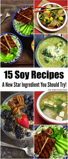 15 Soy Recipes: A New Star Ingredient You Should Try!
