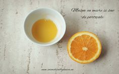Masca cu suc de portocale si miere Take Care Of Me, Hair Beauty, Skin Care, Orange, Fruit, Diy, Food, Products, Bricolage