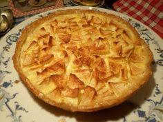 """""""La Minute de la Mère Mitraille"""" © - N°7 - RECETTE facile : Tarte aux Pommes Grand-Mère Mitraille à la Normande à l'Ancienne """"Mère Mitraille. Une gourmandise traditionelle et facile à faire."""