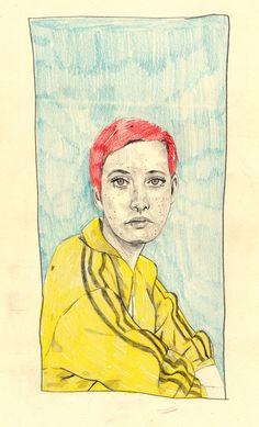 withpencilinhand Maisie Cousins Collaboration Illustration #3