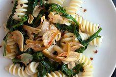 Broccoli Rabe Pasta with Golden Garlic / Sharon Radisch