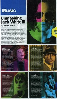 Jack White in Time Out New York