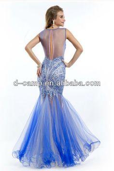 2014 Prom Dress Sewing Patterns | ... Chiffon Beaded Backless ...