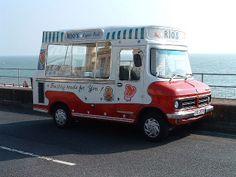 Bedford CF1 Ice cream van