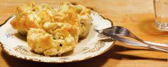 Vegetarisch: Spinazietaartje met brie, pijnboompitten