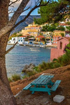 to greece To Greece destinations To Greece greek islands To Greece on a budget To Greece outfits To Greece packing lists To Greece tips To Greece with kids Assos fish-village, Kefalonia Patras, The Places Youll Go, Places To Visit, Wonderful Places, Beautiful Places, Myconos, Greece Islands, Adventure Is Out There, Greece Travel