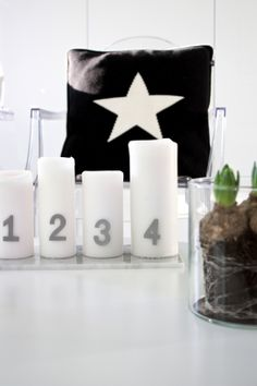 homevialaura #advent #candles #hyacinth #star #christmas