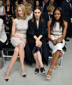 Rooney Mara - MBFW: Front Row at Calvin Klein Collection