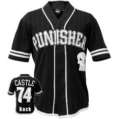 Punisher - Logo 74 Baseball Jersey