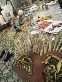 Lion King Jr. Props Scar Mask