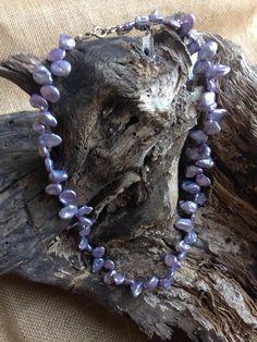 collar perles barroques