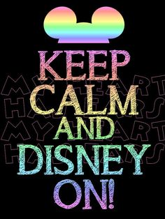 Printable DIY Keep calm and Disney on Iron on by MyHeartHasEars, $5.00