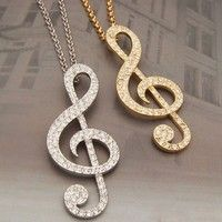 Creo que Hot Fashion Sliver Golden Music Note Pendant Long Chain Necklace Sweater Jewelry te gustará. Agrégalo a tu lista de deseos   http://www.wish.com/c/546460a91280fa054336c370