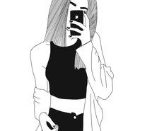 Inspiring image black and white, cold, cute, drawing, girl, grunge, grunge girl, happy, hipster, icon, like, mine, outline, outlines, png, pretty, punk, punk girl, sad, selfie, share, transparent, pings #3561195 by rayman - Resolution 764x1026px - Find the image to your taste