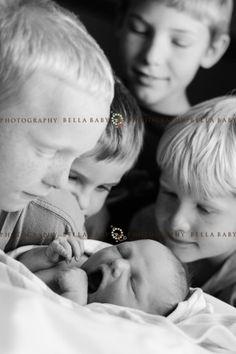 Newborn & many siblings!  Bella Baby