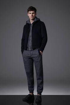 Joe Collier Models REISS Menswear Autumn Winter 2015