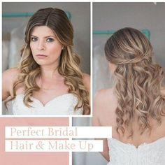 FREE YOUR HAIR Best Bride, Bride Hairstyles, Bridal Hair, Your Hair, Hair Makeup, Make Up, Long Hair Styles, Free, Beauty