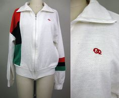 Vintage 80s OSCAR De La RENTA Track Jacket, $25.00 Vintage Windbreaker, Knits, Adidas Jacket, Vintage Outfits, History, Knitting, Clothing, Sweaters, Jackets