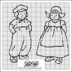 Dutch boy & girl, found on : http://ddata.over-blog.com/xxxyyy/1/17/48/03/Couple-enfants-grille-gratuite-point-de-croix-BD-Couture.pdf