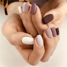 Simple Acrylic Nails, Fall Acrylic Nails, Simple Nails, Matte Nails, Pink Nails, Matte Makeup, Girls Nails, 3d Nails, Makeup Eyes