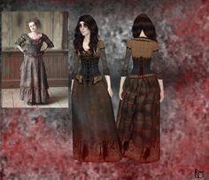 Eleanor's simscc-Haunted Manor — Miss Lovette's dress_Ts4