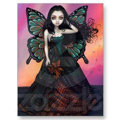 """Butterfly Sunset"" Postcard from Zazzle.com"