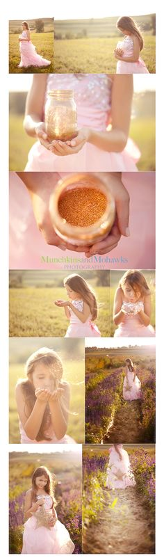 fairy dust shoot for little girl! cute!