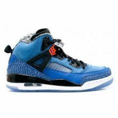 low priced ccb30 c5528 315371-405 Air Jordan Spikize Knicks Royal Blue Black White A23016 Nike Air  Max Mens