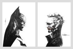 Batman vs. Joker by Jae Lee